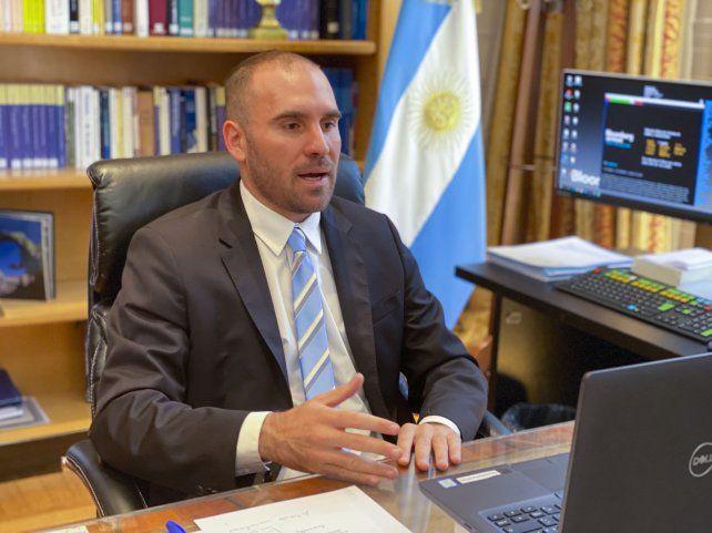 """""""En 2021 el Estado jugará un papel anticíclico clave"""", dijo el ministro Guzmán."""