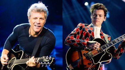 El legendario Bon Jovi hizo un cover de Watermelon Sugar de Harry Styles y explotaron las redes sociales.
