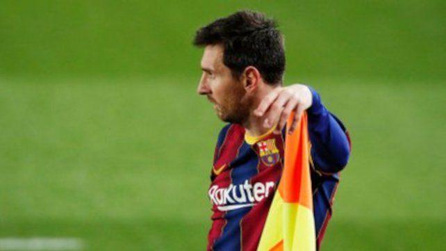Messi espera pero no desespera por su futuro futbolístico.