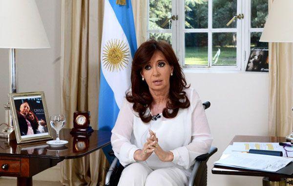 A mí no me van a extorsionar, no me van a intimidar, no les tengo miedo, desafió Cristina