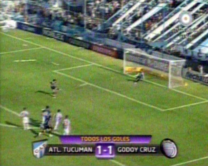 Atlético Tucumán empató de local frente a Godoy Cruz de Mendoza