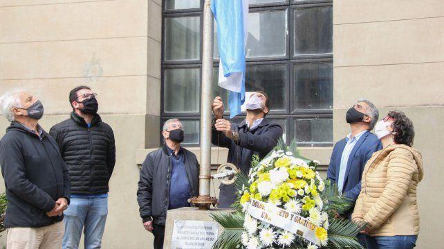 La UNR le rindió homenaje a Lifschitz