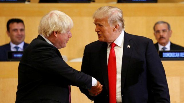 Trump apoyó al genial premier
