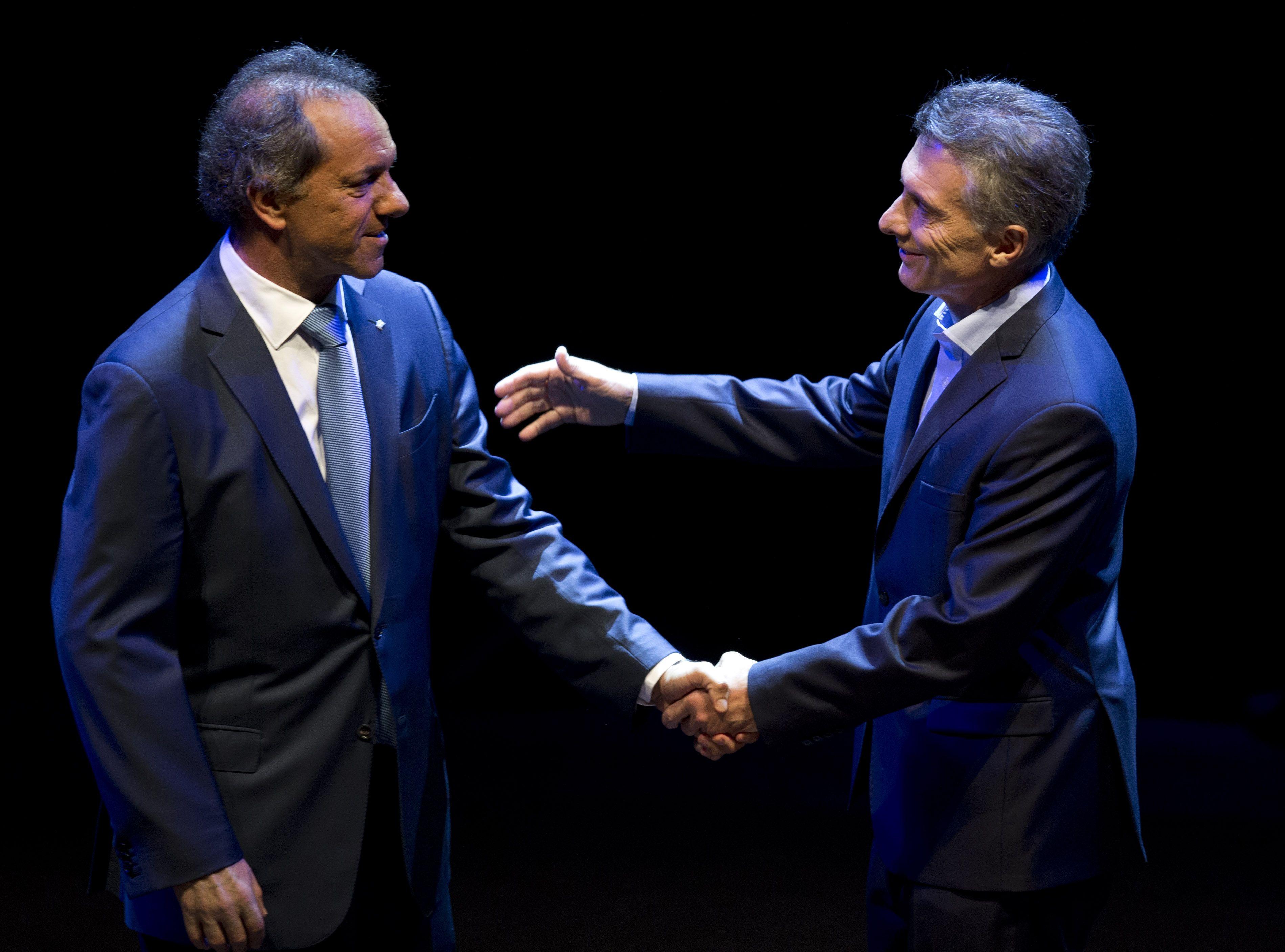 Scioli aseguró que su futuro es el de un ciudadano común con grandes responsabilidades.