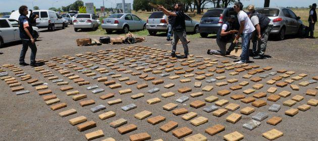 Uno de los procedimientos realizados el año pasado por la ex Drogas Peligrosas de Santa Fe. (Foto de archivo: S. Toriggino)