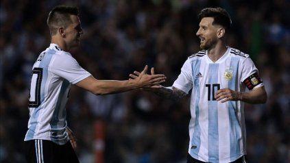 La selección argentina ya juega la Copa América con Messi y Lo Celso en cancha