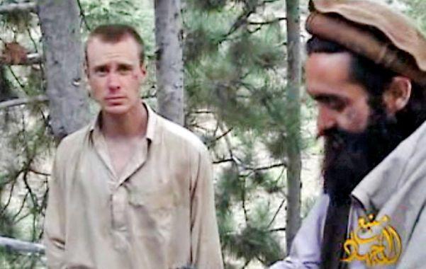 Fin del cautiverio. El sargento Bowe Bergdahl fue capturado hace cinco años por insurgentes talibanes afganos.
