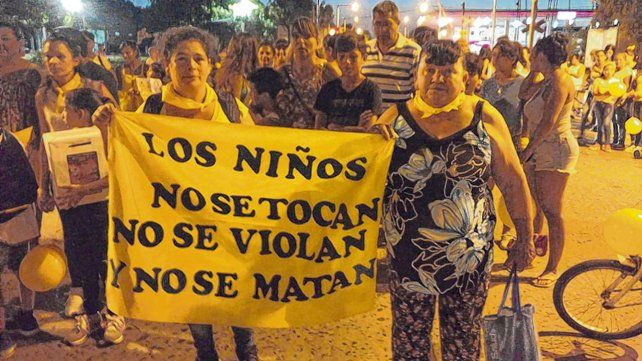 Malestar. La marcha arrancó en 25 de Mayo y Buenos Aires y culminó con un acto en la Plaza de los Mástiles.