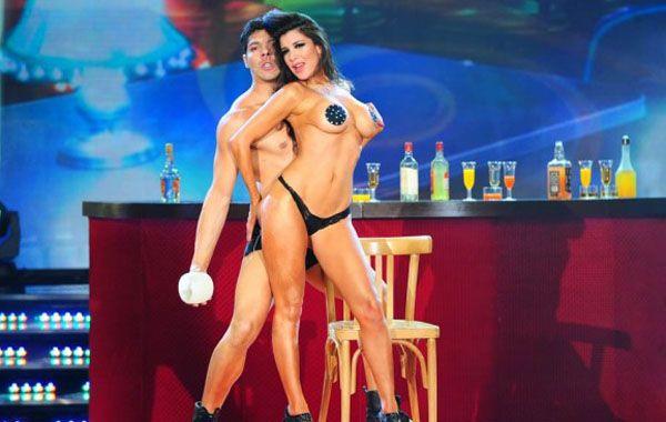 Andrea Rincón cautivó un puntaje ideal en la primera gala de strip dance de ShowMatch.