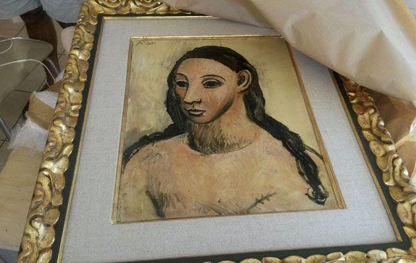 Cabeza de mujer joven. El óleo es propiedad del banquero Jaime Botín.