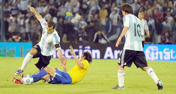 Argentina-Brasil, un clásico, nada de amistoso