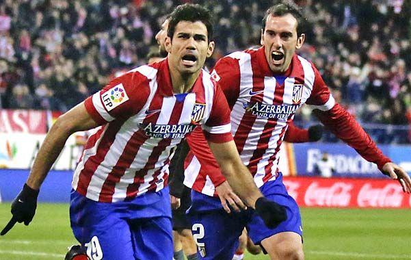 El Atlético de Madrid de Diego Simeone