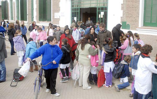 Superpoblación. La escuela fiscal 229 supera los 30 chicos por aula