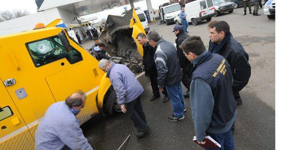 Una banda intentó asaltar un camión blindado en la autopista a Buenos Aires