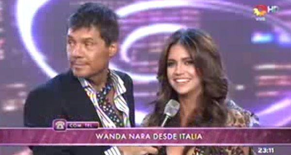 Wanda le contó a Tinelli la verdad sobre su crisis con Maxi López