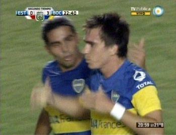 Boca Juniors goleó a Estudiantes y es el único puntero del campeonato