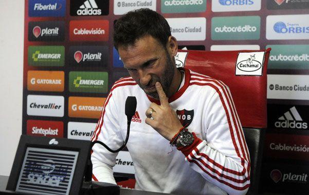 Bernardi tiene el objetivo de clasificar a la Sudamericana. (Gustavo de los Rios / La Capital)