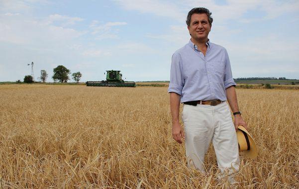 Luis Etchevehere. El presidente de la Sociedad Rural sería el responsable.