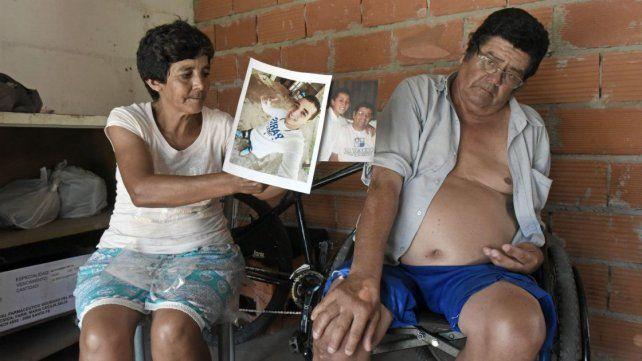 Los padres de Ernesto Fidel Rosales hablaron con este diario días después del crimen. Sabían que la droga llevaría a su hijo a un mal final.