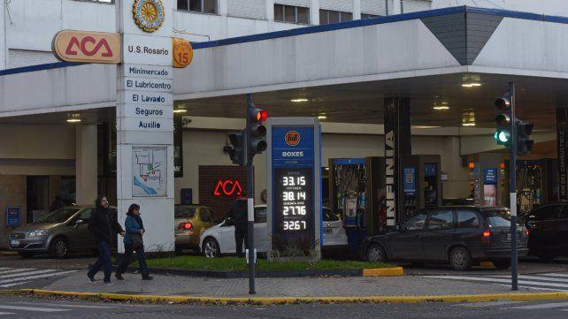Rosario amaneció este domingo con un nuevo aumento de la nafta.