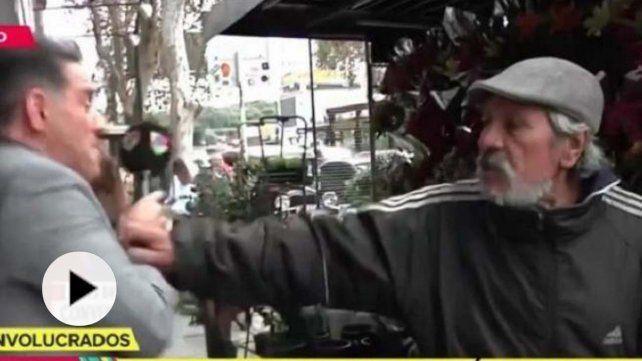 Mariano Iúdica casi se va a las manos con un florista