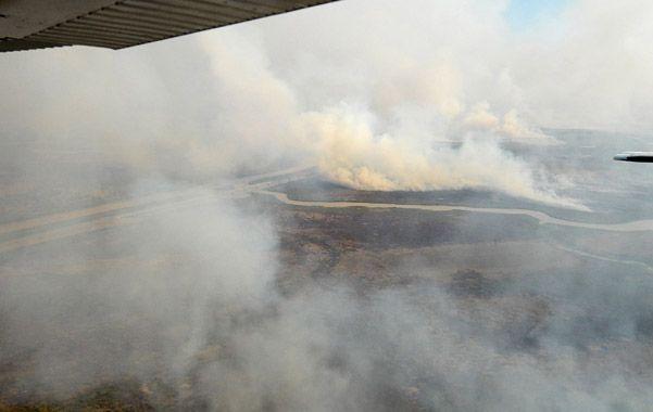 El fuego que consumió una gran extensión del Delta entrerriano y bonaerense se fue reduciendo. Para la Corte