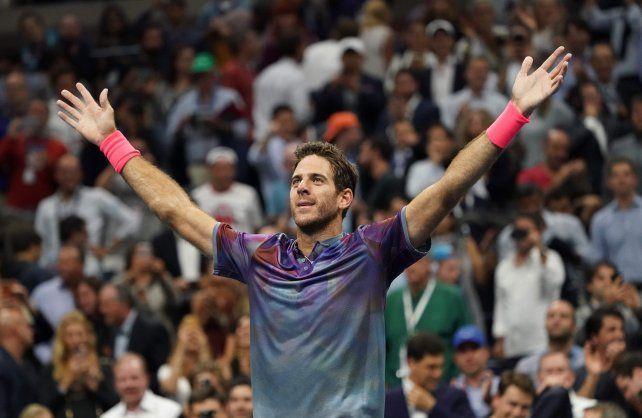 Del Potro se medirá con Rafa Nadal en busca de otra hazaña en el US Open