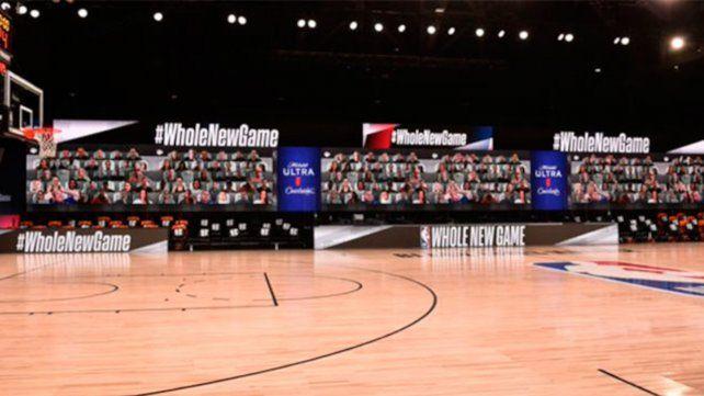 La NBA implementó un sistema similar en su burbuja de Orlando.
