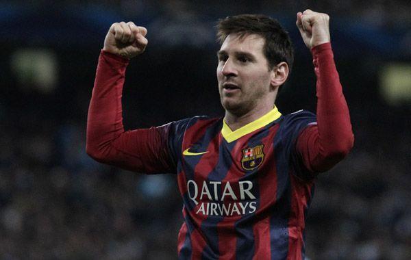 En Manchester sueñan con tenerlo a Messi luciendo la casaca del City.