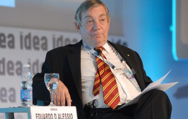 El consultor Eduardo D´Alessio presentó la tradicional encuesta de expectativas de Idea.