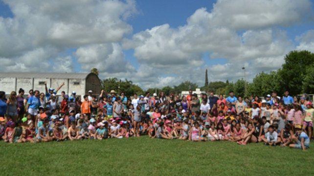 integrados. Más de 700 niños participan de las actividades de verano.