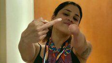 La nadadora Daniela Giménez se expresó con una carta fuerte.