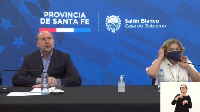 Perotti anunció la descentralización de testeos y una nueva forma de confirmar casos positivos