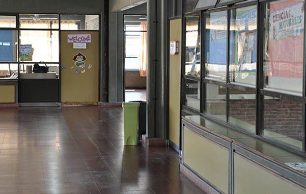silencio. Interior de la escuela Senet Nº12 ubicada en el barrio de Saavedra de Capital Federal.