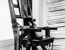 EEUU abolió el uso de la silla eléctrica