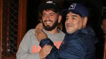 Diego Jr. contó cómo se enteró de la muerte de su padre: Pensé que no era cierto