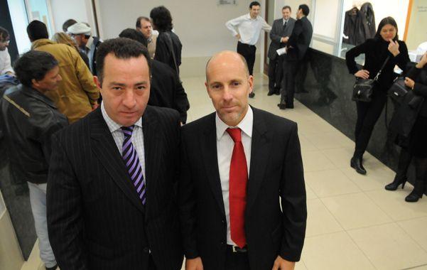 Defensores. Carlos Varela y José Nanni