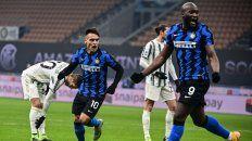 Inter le ganó a Juventus y también es líder del Calcio