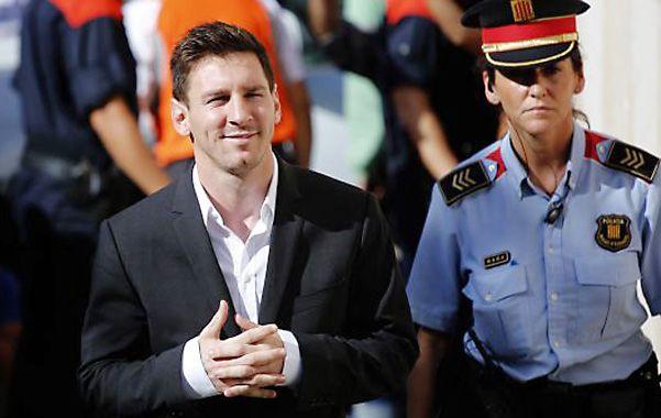 Otra vez. Messi ya se presentó en los jugados de Gavá en septiembre de 2013 para declarar sobre las mismas acusaciones.