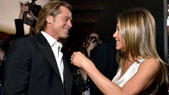 Brad Pitt Y Jennifer Aniston en los Screen ActorsGuild Awards.