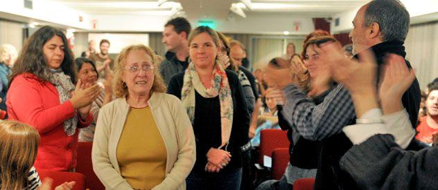 Los docentes habían dramatizado en un acto por el cierre de grados de la escuela pública.