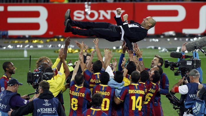 Con un Messi intratable, el Barcelona bailó al Manchester y es campeón de la Champions