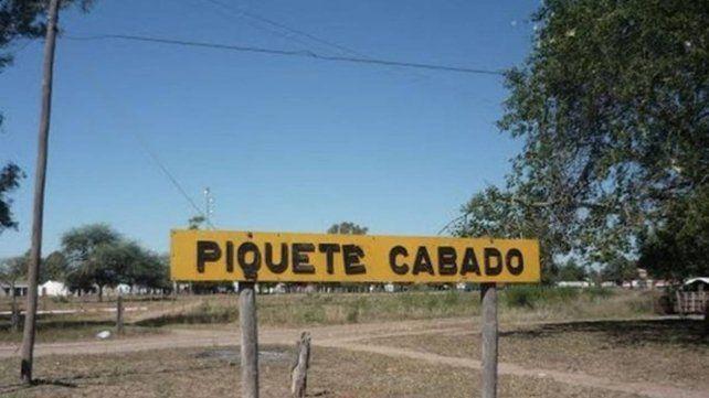 Los hechos ocurrieron en el pequeño pueblo de Piquete Cabado