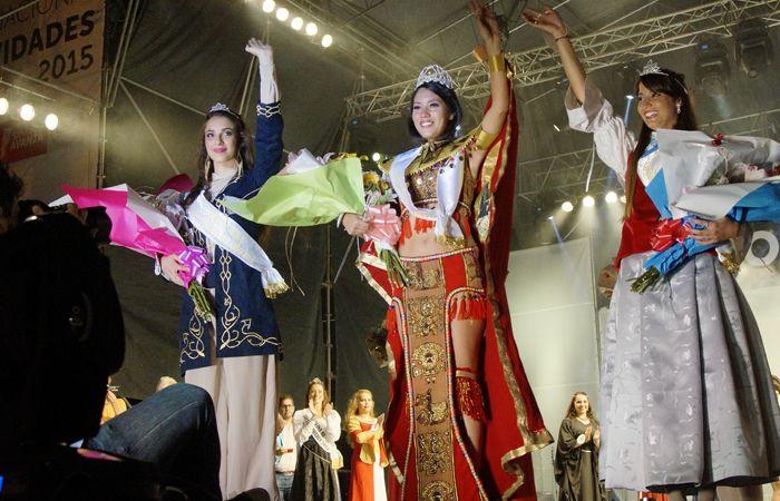 Coronación. Silva fue elegida reina entre las 22 candidatas que se presentaron en la 31º edición de la feria. (Foto: Fernando Der Meguerditchian)