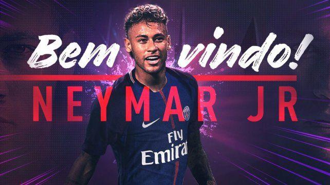 Oficial. Neymar fue confirmado como nuevo jugador de PSG