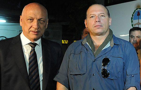 El gobernador Antonio Bonfatti