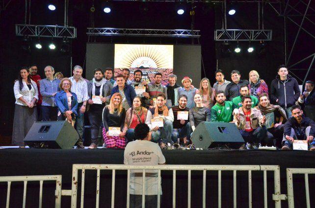 A Cosquín. La competencia se sumó a una larga lista de eventos culturales.