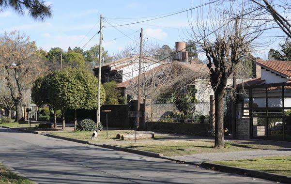 El lugar. El atraco a José Luis P. fue el sábado en Morrison al 8200.