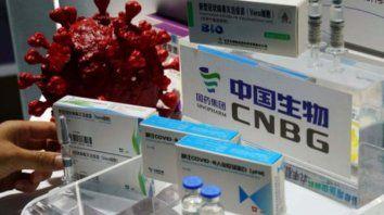 Las vacunas chinas de Sinopharm llegaron este sábado a la provincia.