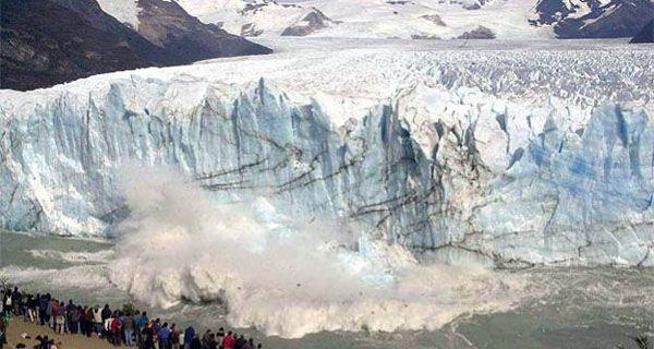 El Calafate se llena de turistas con el proceso de ruptura del glaciar Perito Moreno